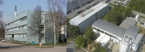 The INR from south-east and from the chimney